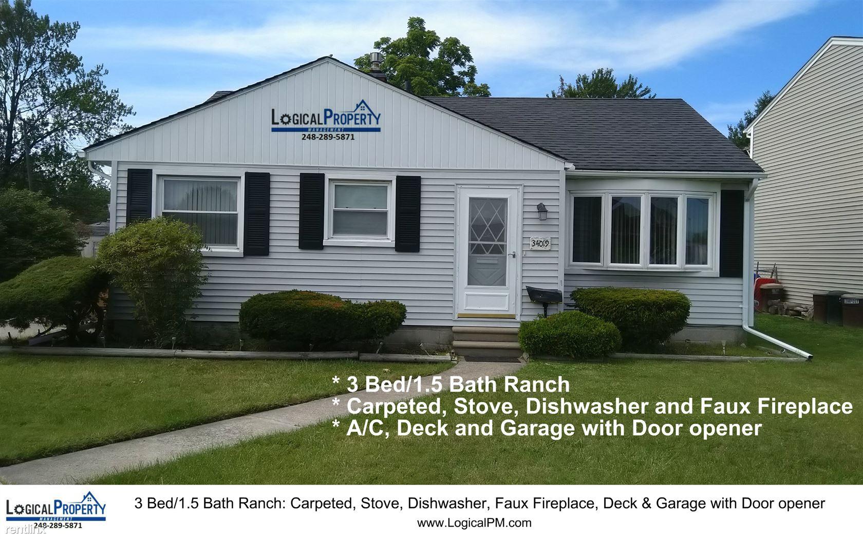 34019 Garfield Rd, Fraser, MI - $1,250