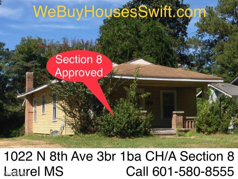 1022 N 8th Ave, Laurel, MS - $995
