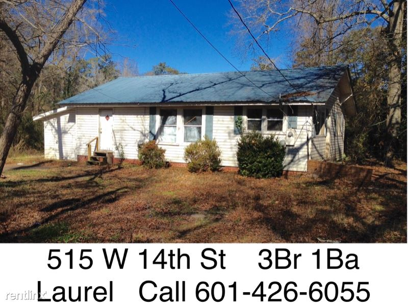 515 W 14th St, Laurel, MS - $795