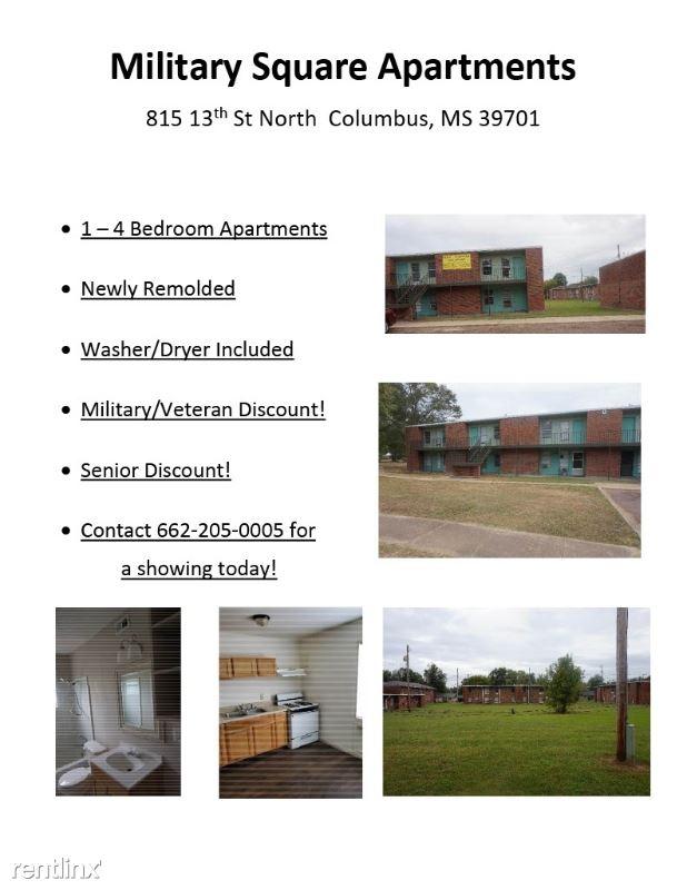 815 13th St North, Columbus, MS - $480