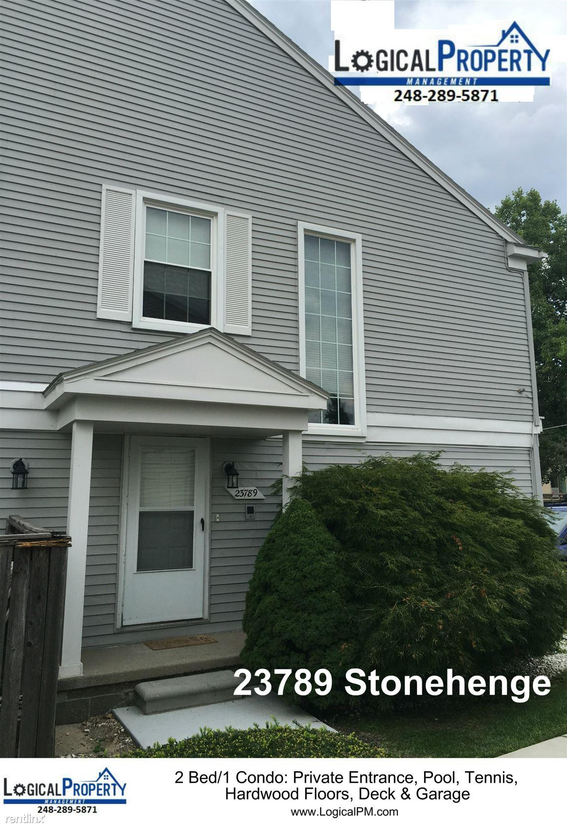 23789 Stonehenge Blvd, Novi, MI - $1,200