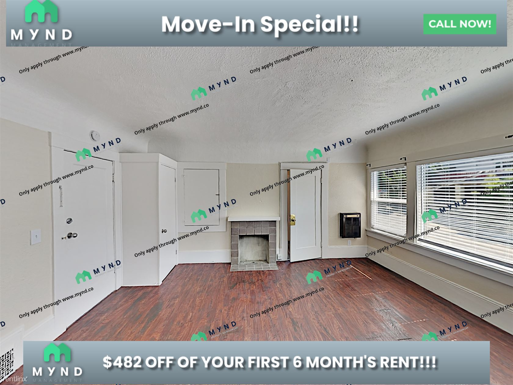 481 Stow Ave Apt 3 - 2545USD / month