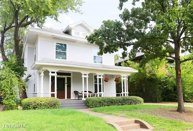 818 Woodlawn Ave, Dallas, TX - $3,000 USD/ month