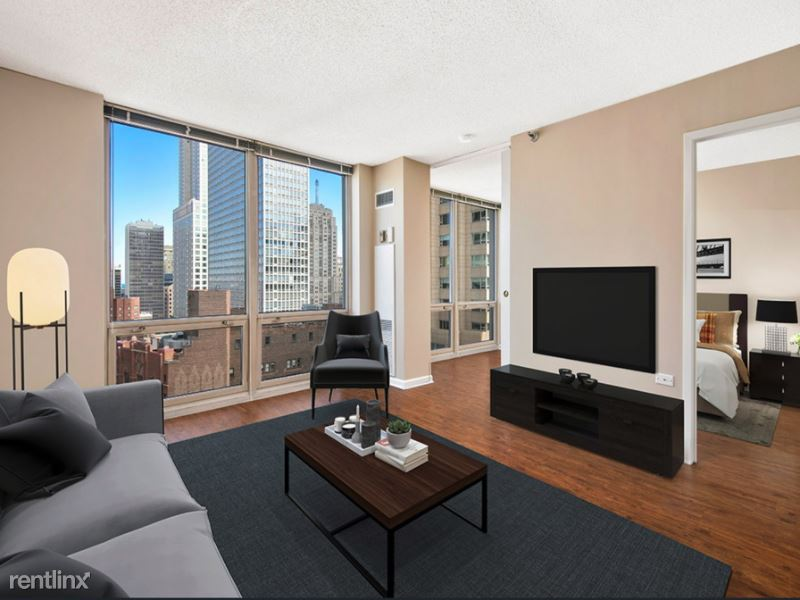 752 N Rush 4108, Chicago, IL - $6,417 USD/ month