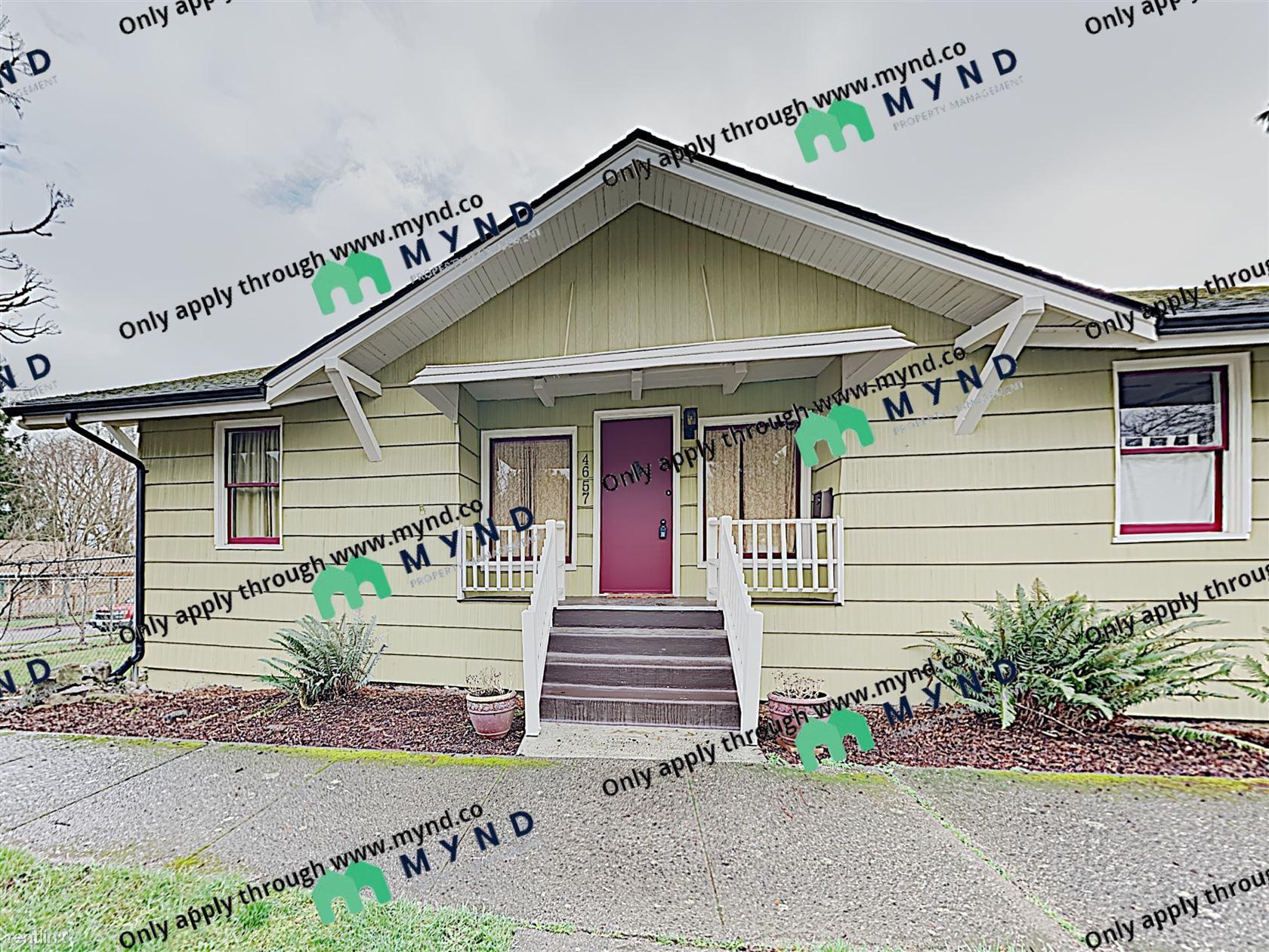 4657 S Frontenac St, Seattle, WA - $2,395 USD/ month