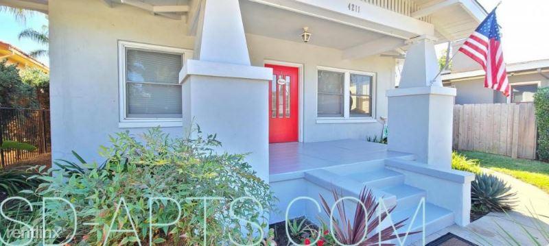 4211 Arden Way 3BR-HOUSE, San Diego, CA - $4,250 USD/ month