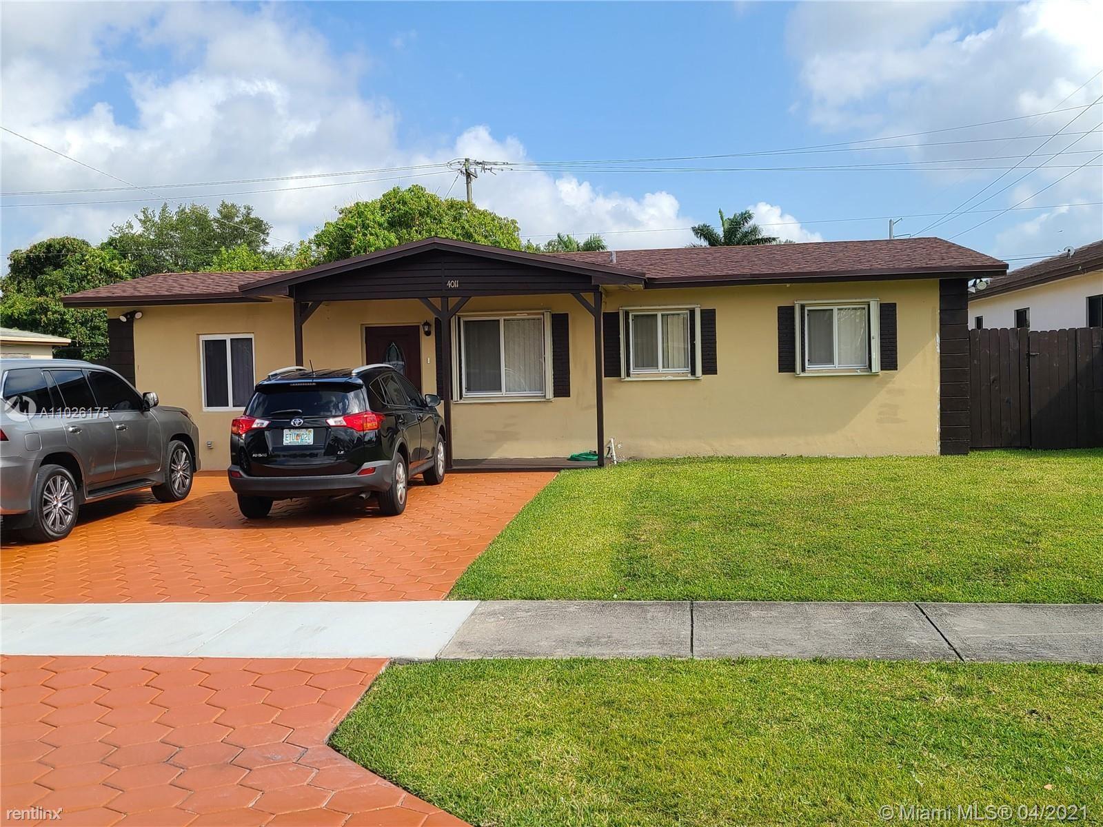 4011 SW 28th St # 4011, West Park, FL - $3,000 USD/ month