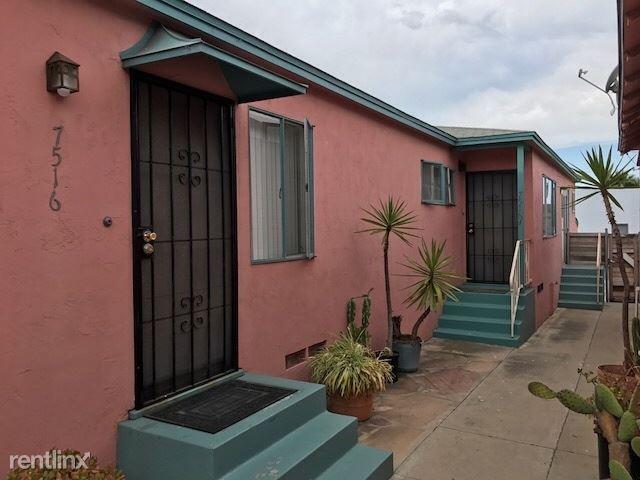 7516 1/2 Draper Ave La, LaJolla, CA - $1,850 USD/ month