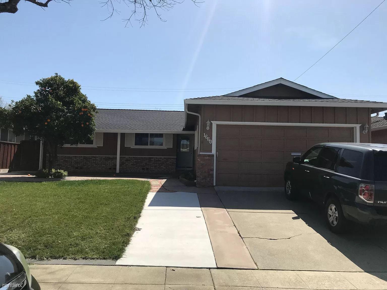 1660 Mount Rainier Avenue, Milpitas, CA - $3,750 USD/ month