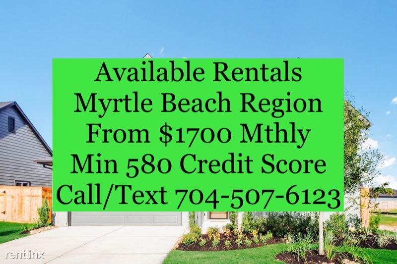 831 River Oaks Dr, Myrtle Beach, SC - $1,700 USD/ month