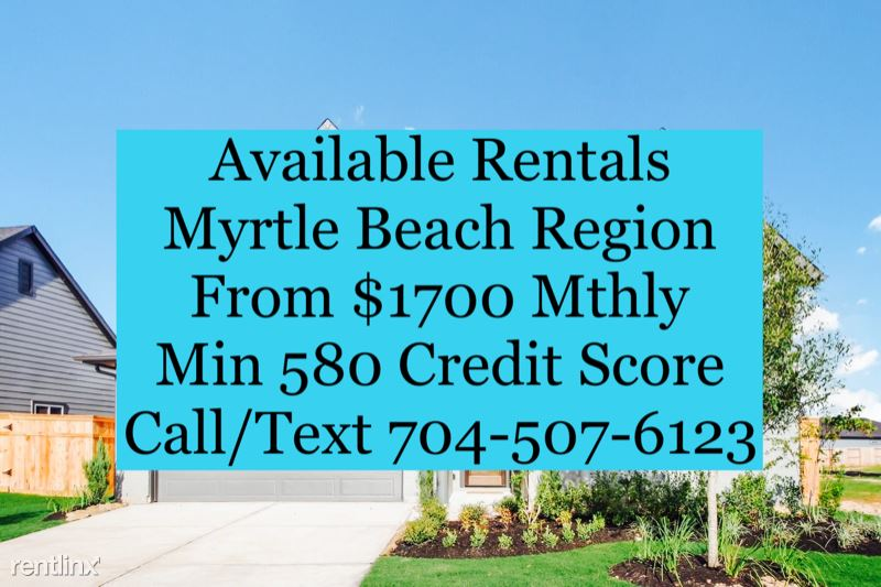 112 Sardis Dr, Myrtle Beach, SC - $1,700 USD/ month