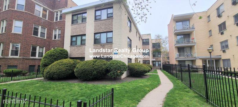1644 W Sherwin Ave, Chicago IL, Chicago, IL - $1,380 USD/ month