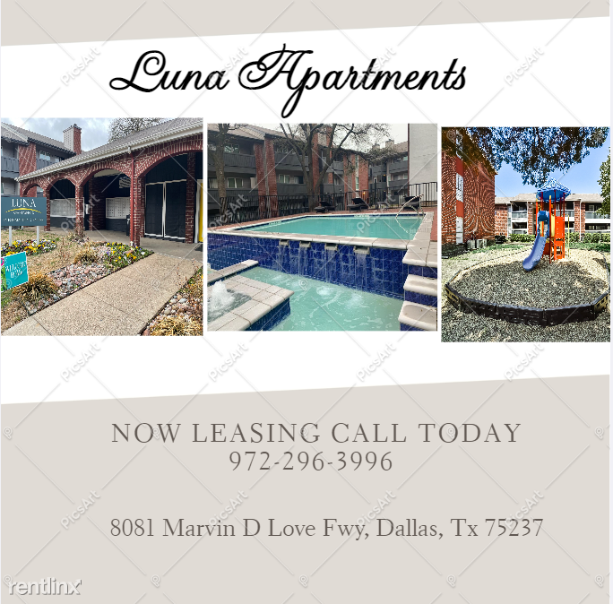 8081 Marvin D Love Fwy, Dallas, TX - $749 USD/ month
