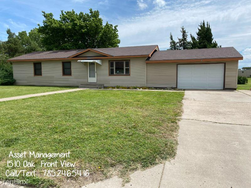 1510 Oak, LaCrosse, KS - 700 USD/ month