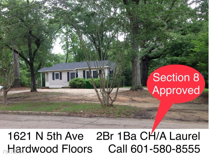 1621 N 5th Ave, Laurel, MS - 995 USD/ month