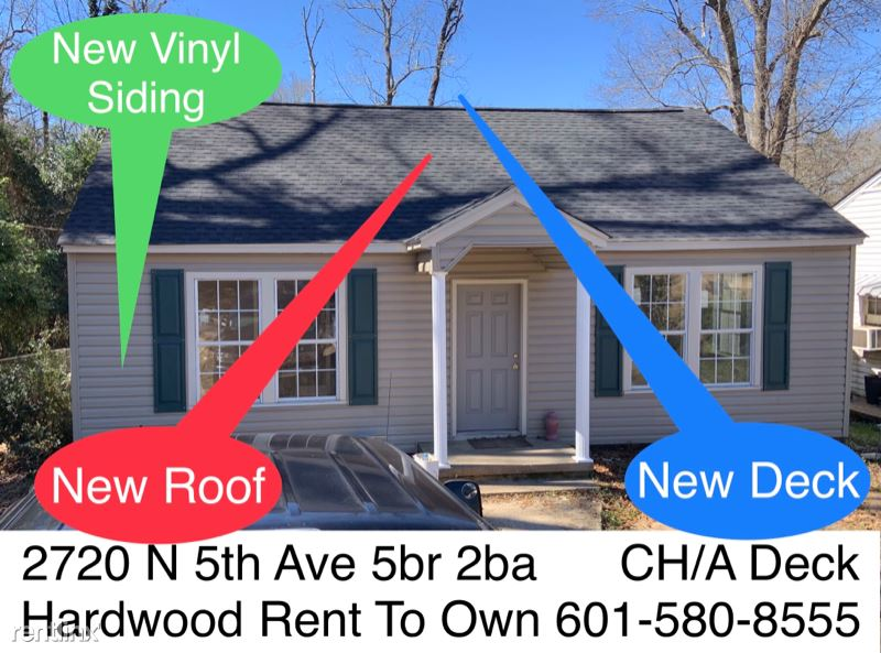 2720 N 5th Ave, Laurel, MS - 1,495 USD/ month