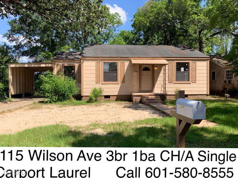 1115 Wilson Ave, Laurel, MS - 1,095 USD/ month