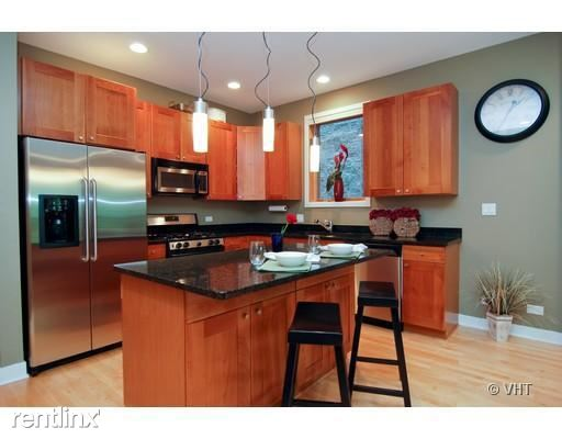 1017 N Paulina St P-2, Chicago, IL - 2,800 USD/ month
