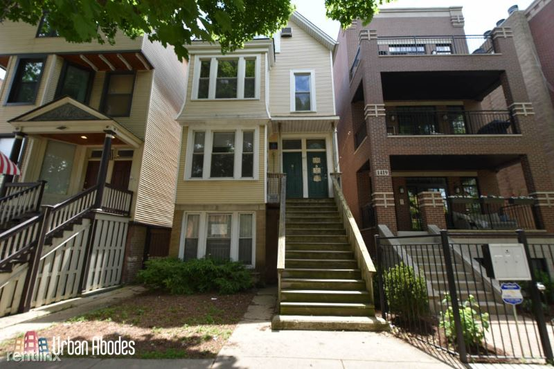 1417 W Roscoe St 4, Chicago, IL - 2,000 USD/ month