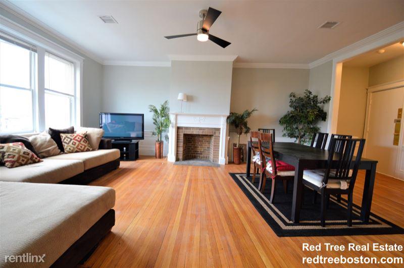 1657 Commonwealth Ave 7, Boston, MA - 3,950 USD/ month
