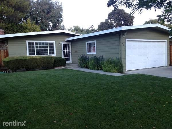 2555 Mardell Way, Mountain View, CA - 2,050 USD/ month