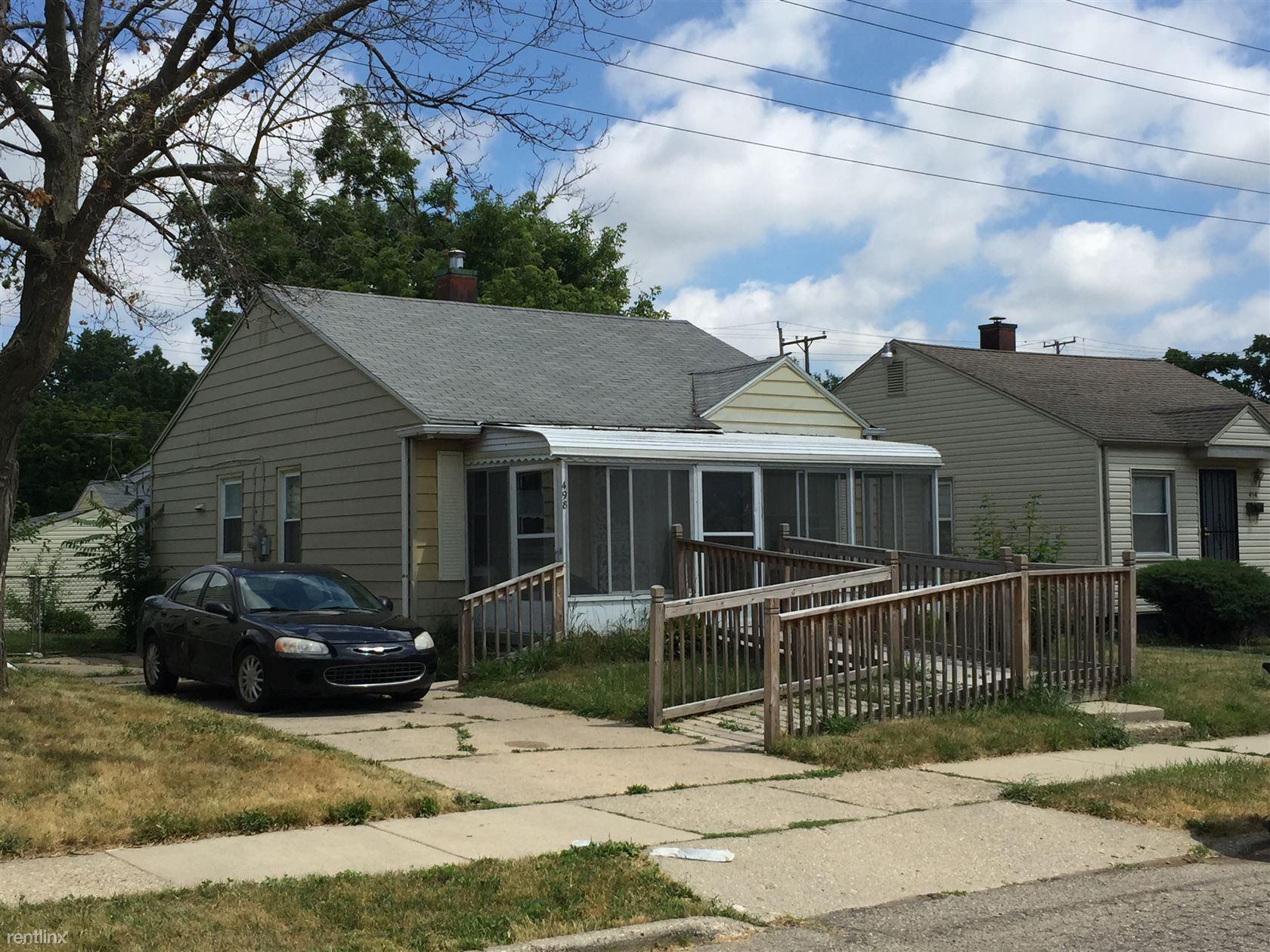 498 Montana Ave, Pontiac, MI - $725