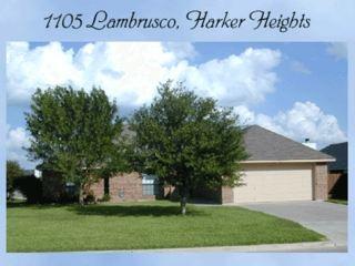 1105 Lambrusco Dr, Harker Heights, TX - $1,225