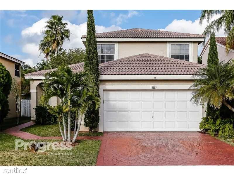 18113 SW 20th St, Miramar, FL - $2,500