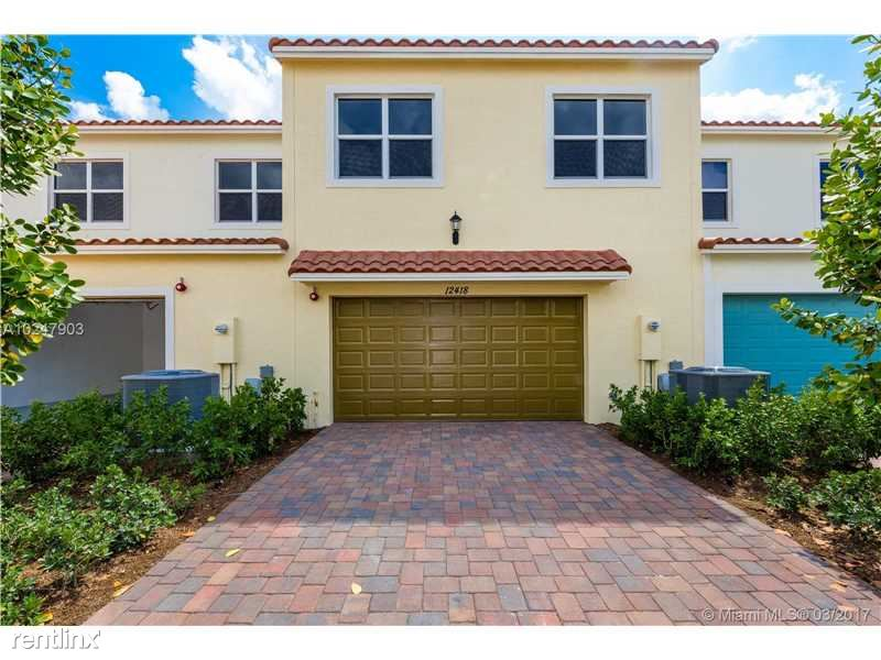 12418 NW 17th Ct, Pembroke Pines, FL - $2,700