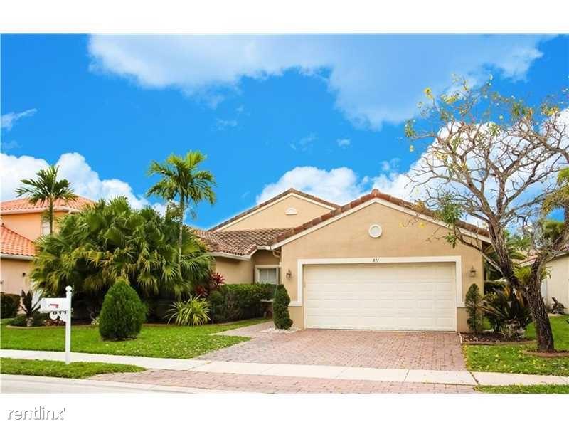 811 SW 190th Ave, Pembroke Pines, FL - $3,150