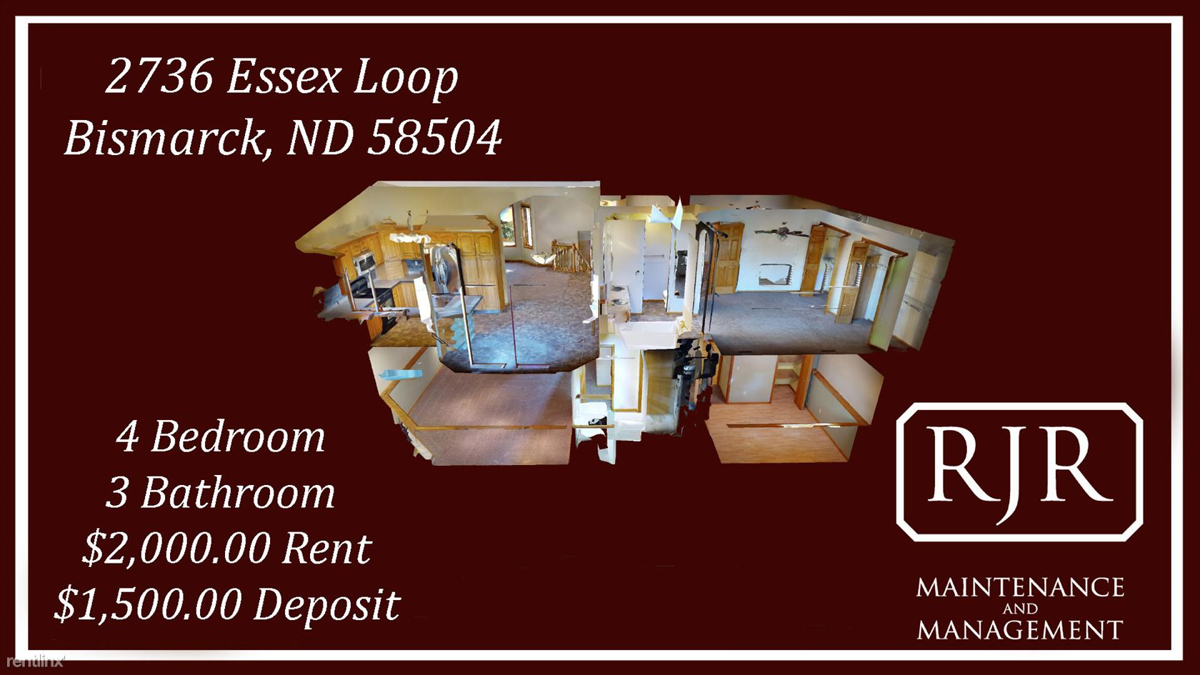 2736 Essex Loop, Bismarck, ND - $2,000