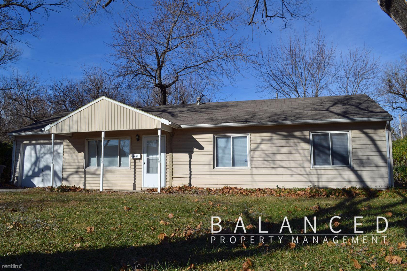 3643 SW Clare Ave, Topeka, KS - $850