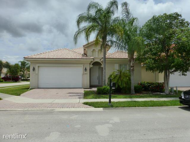 3023 Bollard Rd, Royal Palm Beach, FL - $2,150