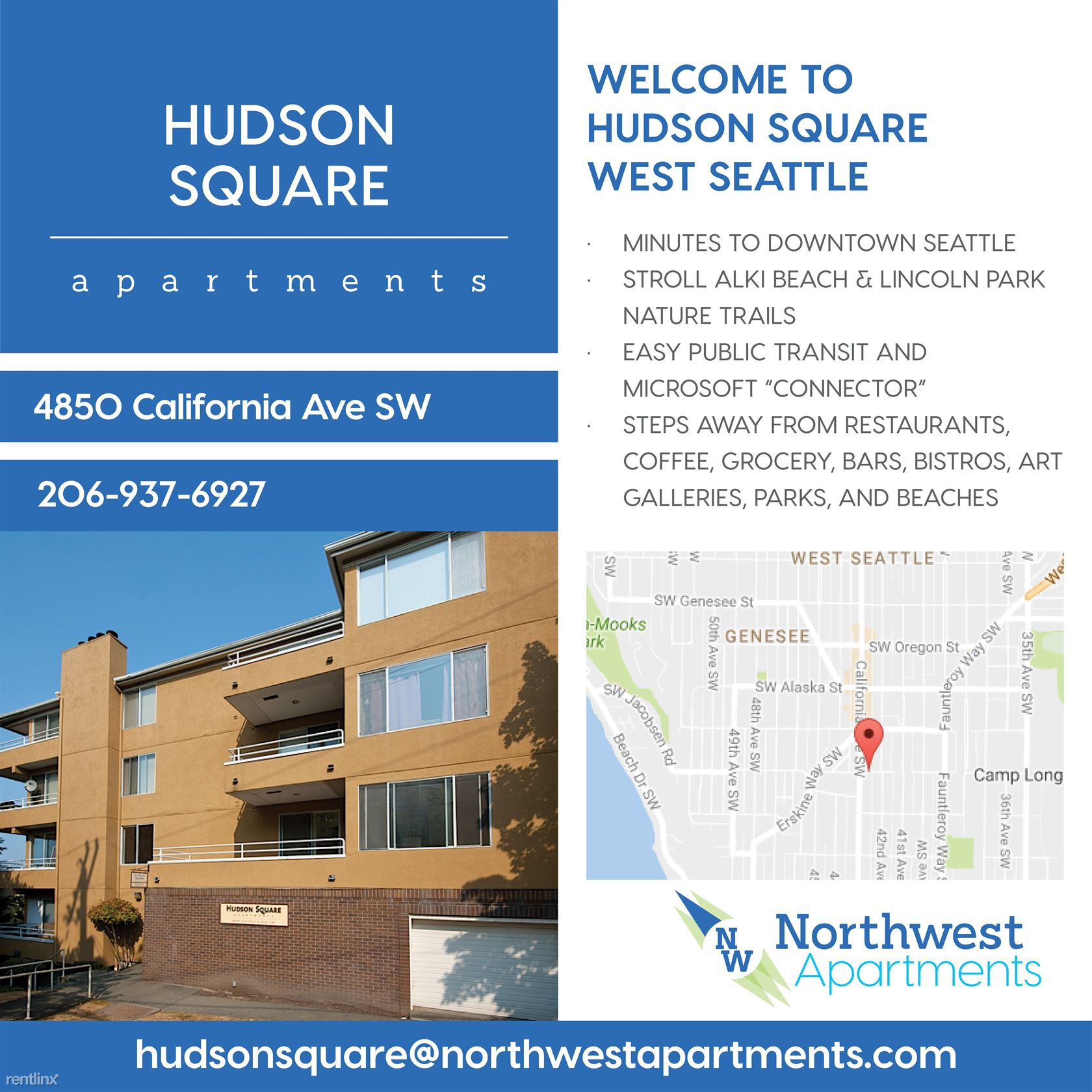 4850 California Avenue Southwest #303 - 1995USD / month