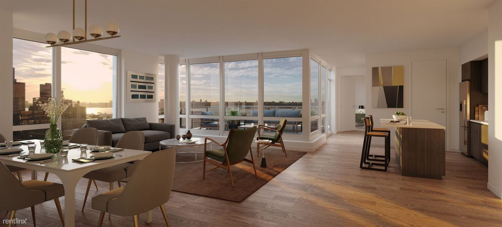 525 W 52nd St #14FS, New York, NY - $7,671 USD/ month