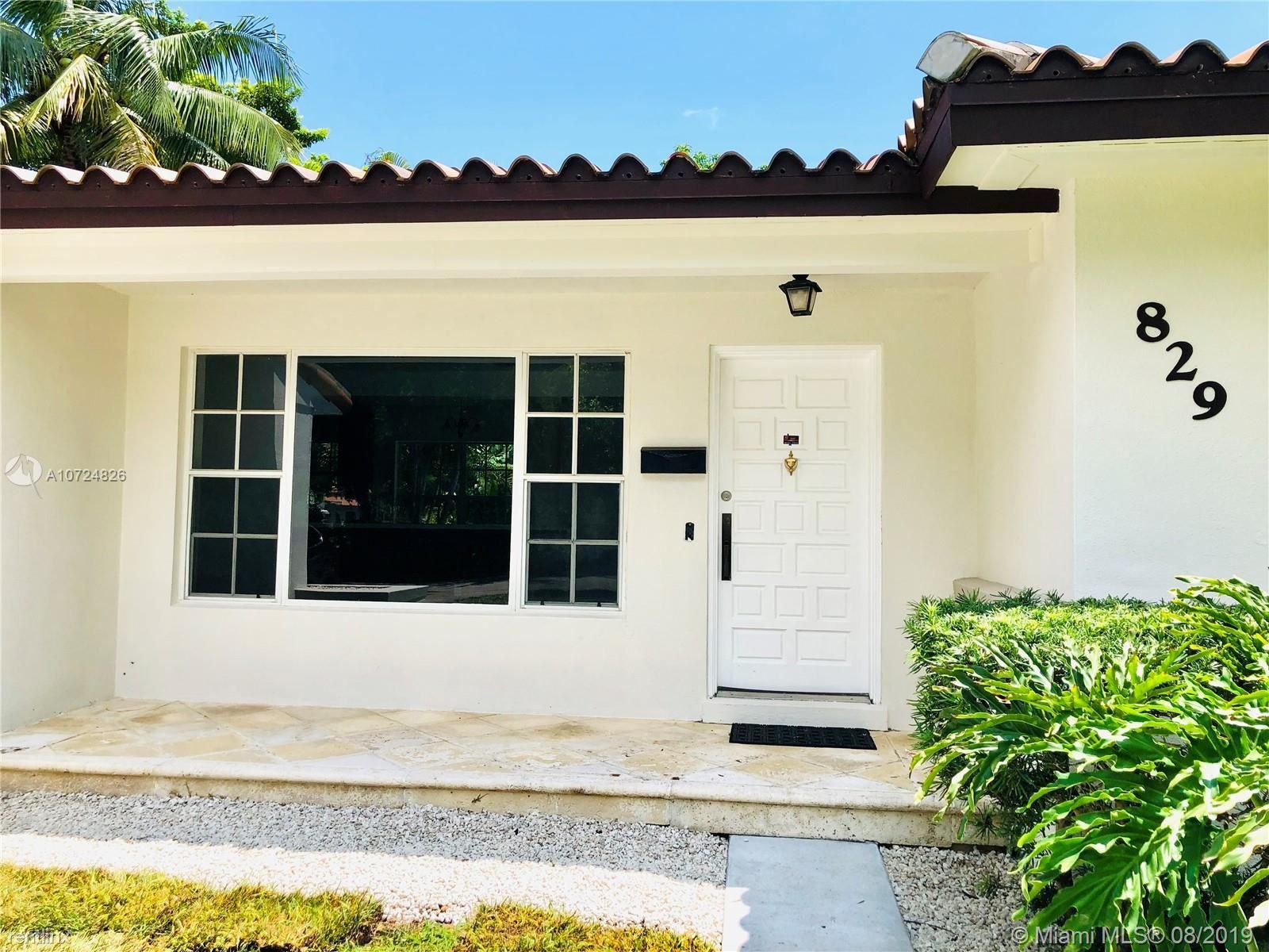 829 Columbus Blvd, Coral Gables, FL - $4,000