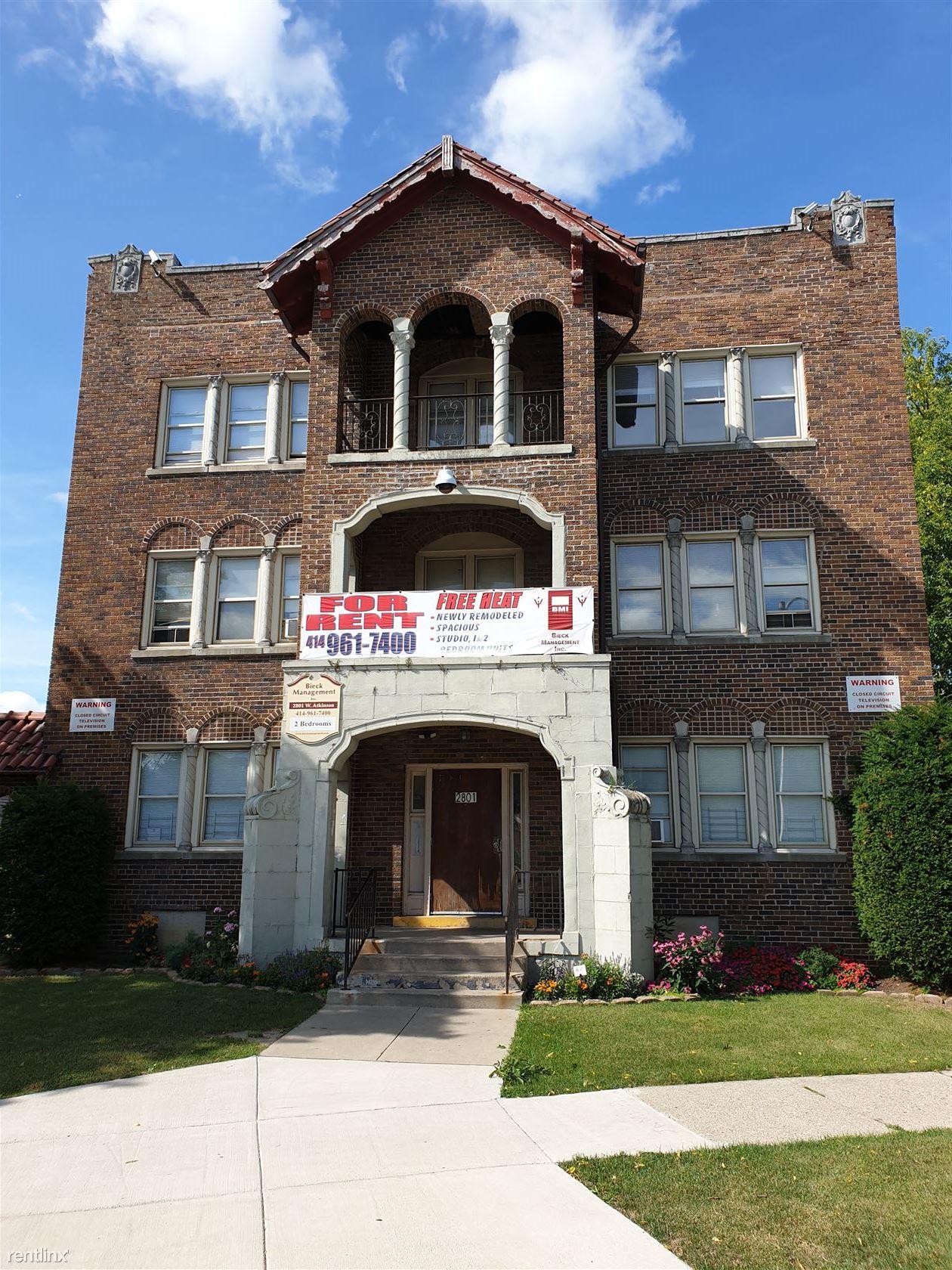 2801 W Atkinson Ave, Milwaukee, WI - $490