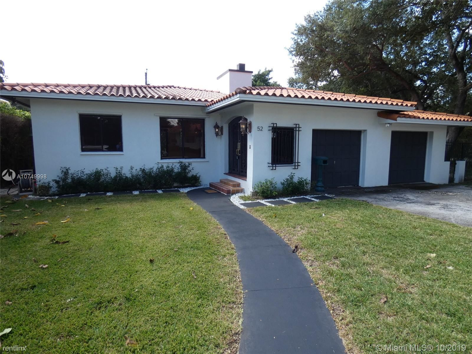 52 Alcantarra Ave, Coral Gables, FL - $2,850