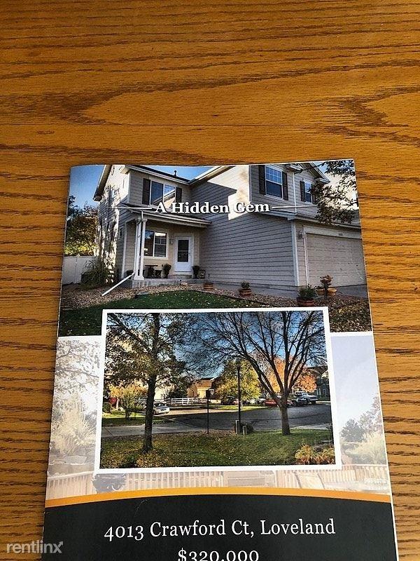 4013 Crawford Court, Loveland, CO - $1,850