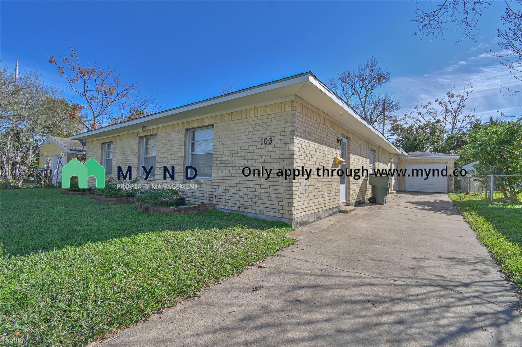 103 Tarpon Ave, Galveston, TX - $1,800