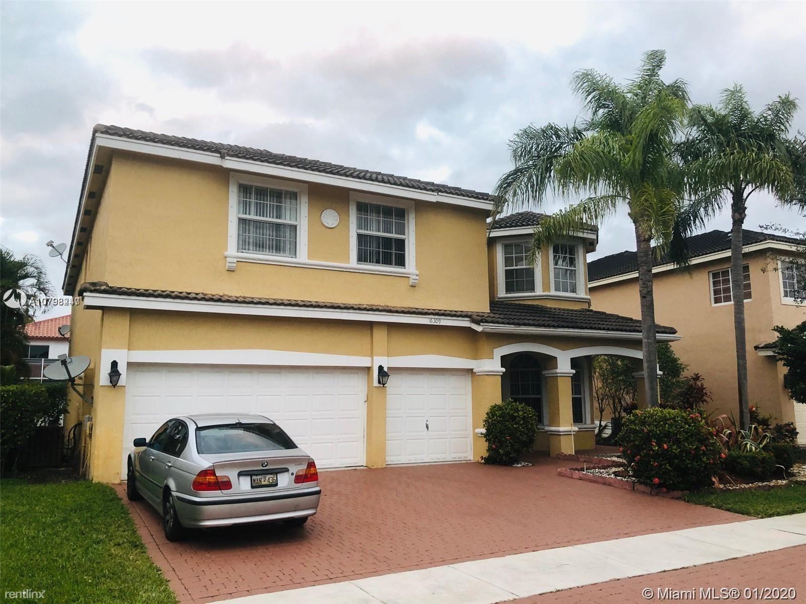 16309 SW 15th St, Pembroke Pines, FL - $3,500