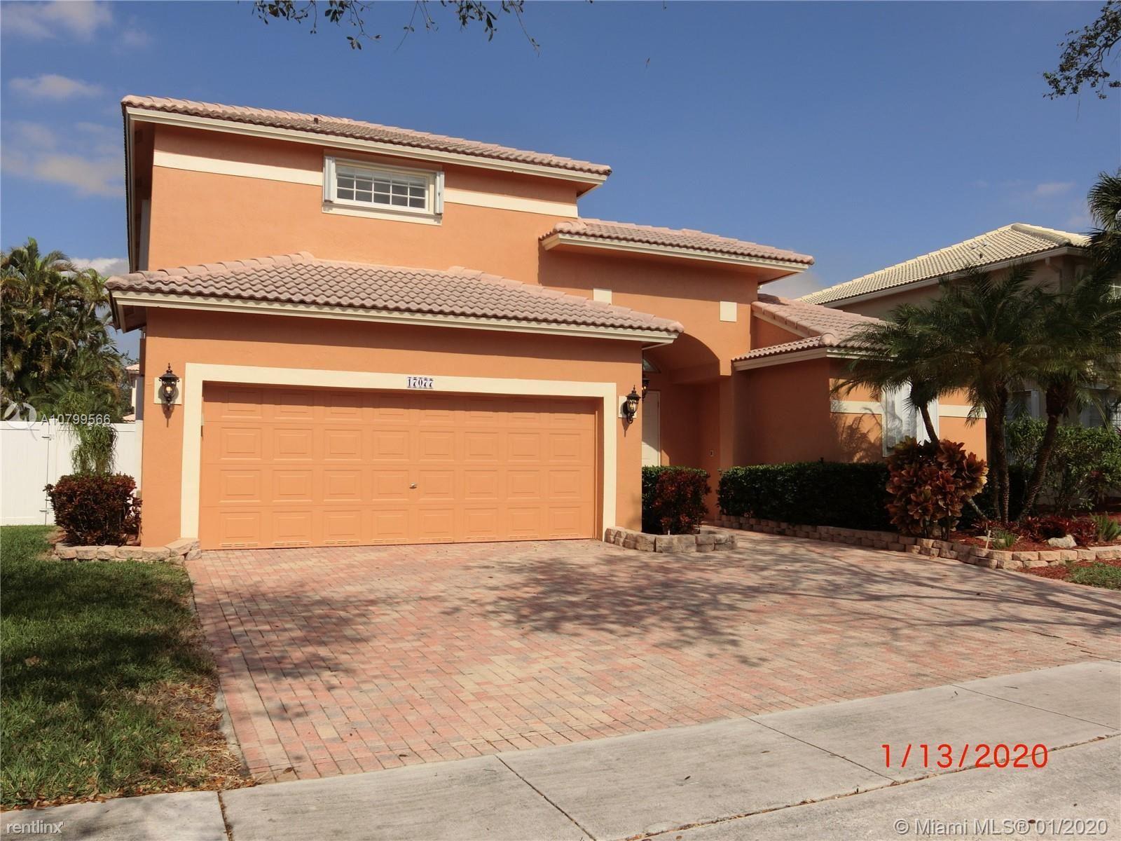 17077 NW 16th St, Pembroke Pines, FL - $3,650