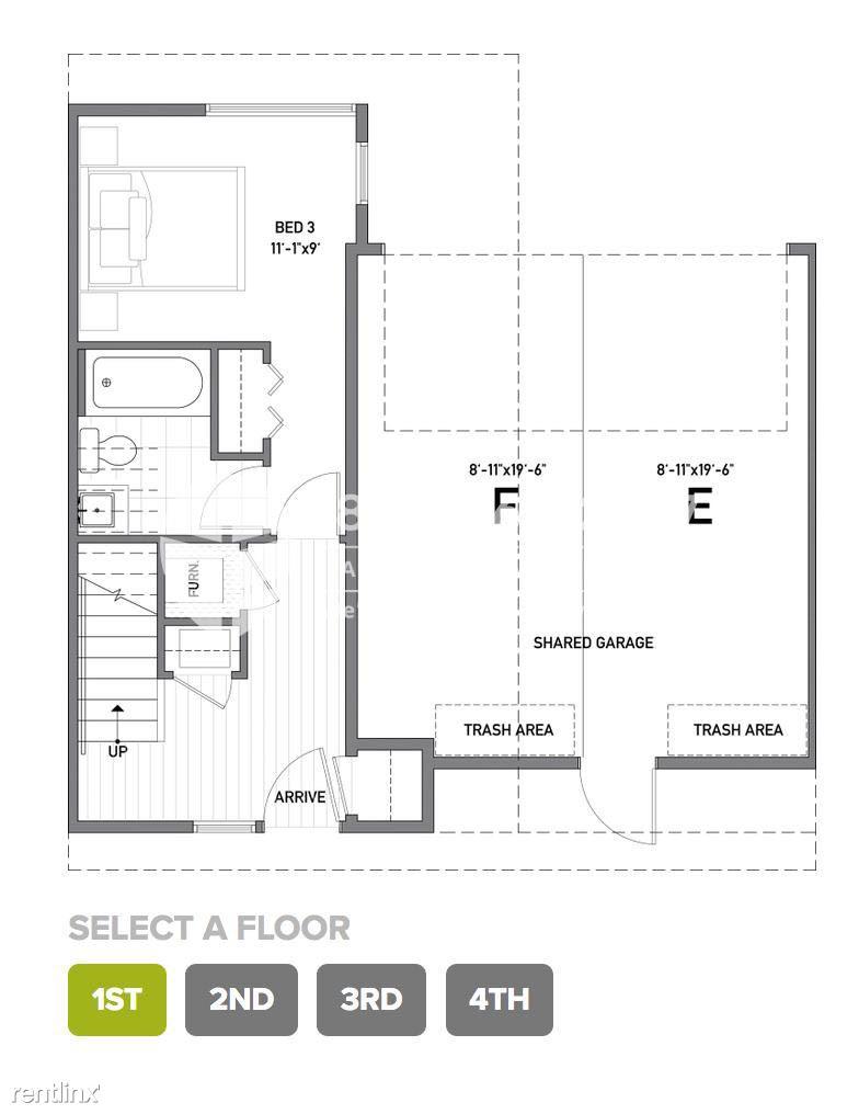 130 21st Avenue East Unit B, Seattle, WA - $3,950