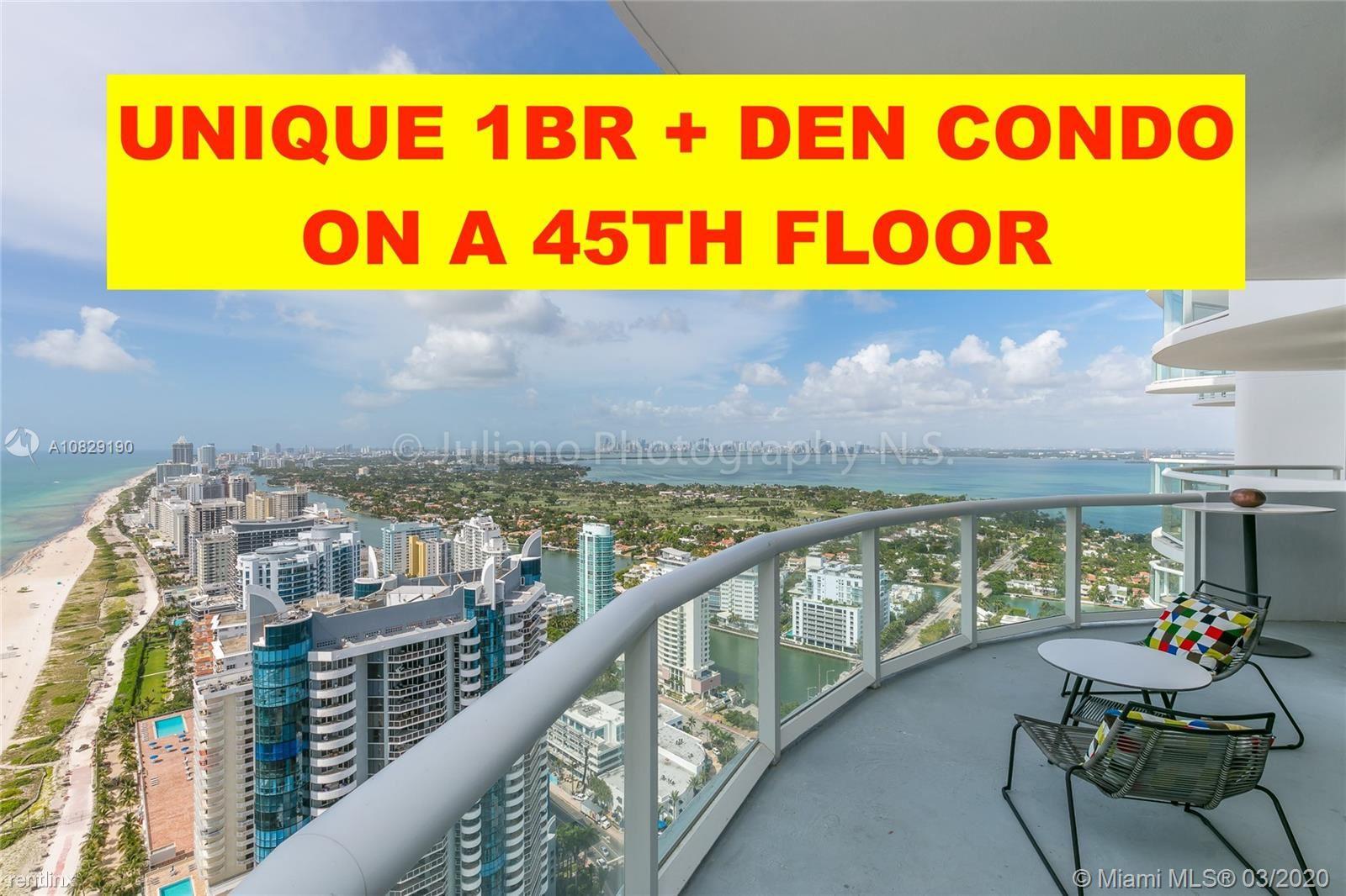 6365 Collins Ave Apt 4504, Miami Beach, FL - $3,950