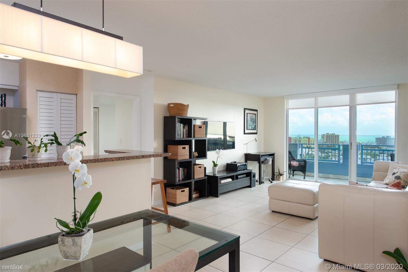 90 Alton Rd Apt 1603, Miami Beach, FL - $5,000