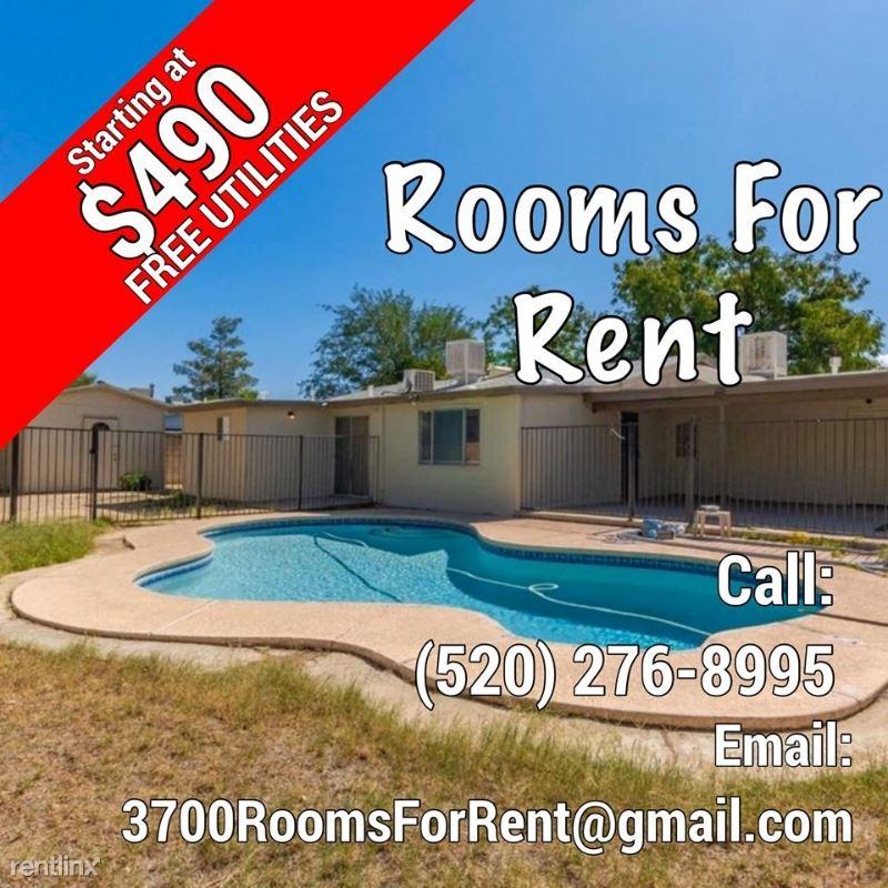 3700 W Gailey Dr, Tucson, AZ - $490