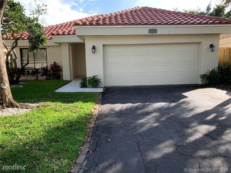 1835 NW 93rd Way, Plantation, FL - $2,600