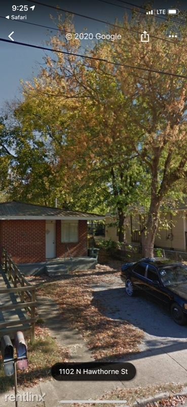 1102 N Hawthorne St B, Chattanooga, TN - $550