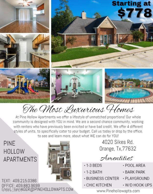 4020 Sikes Road, Orange, TX - $950