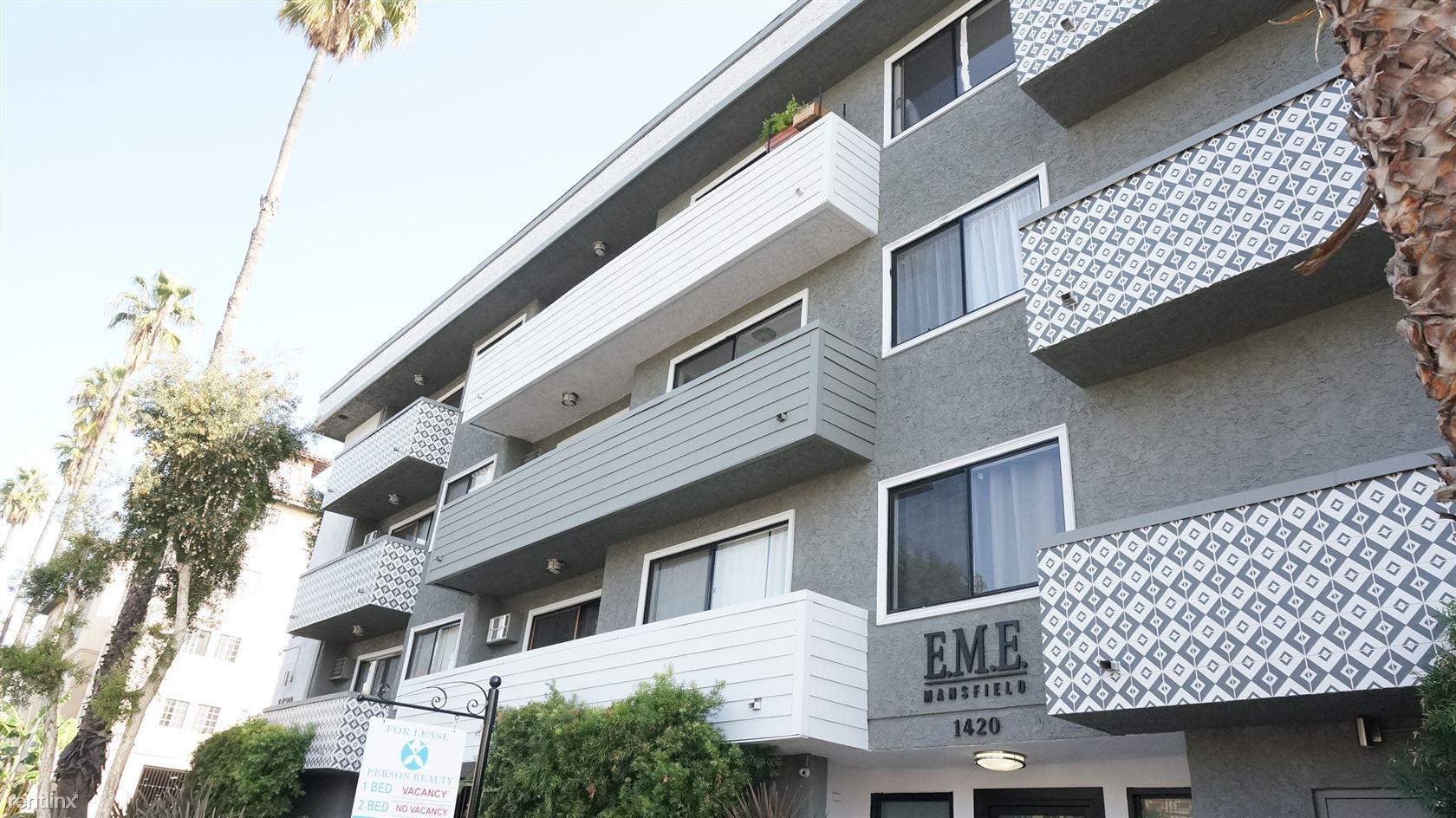 1420 N Mansfield Ave Apt 210, Los Angeles, CA - $2,550